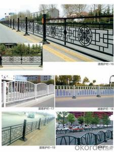 Road Guardrail Fence Traffic Steel Barrier for Road Satefy