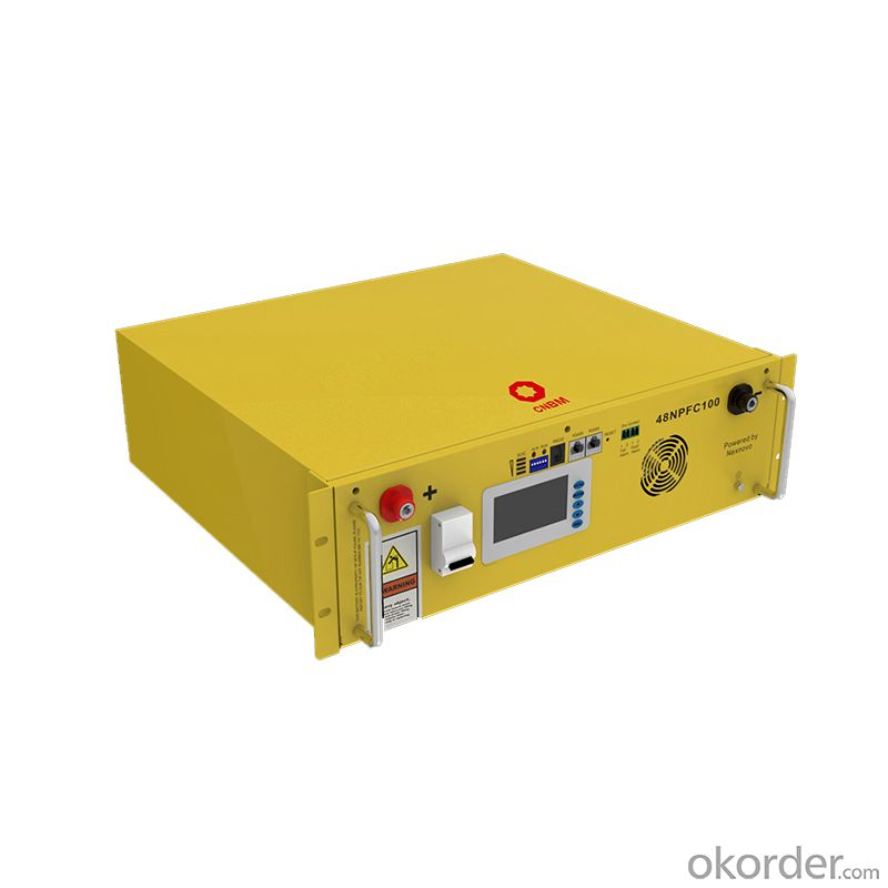 48V 100Ah rack Lifepo4 battery 48v lithium ion battery pack 5kWh for Telecom use