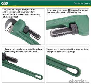 Heavy Duty Pipe Plier Geartech Pipe Wrench