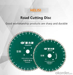 400mm and 500mm Concrete Asphalt Diamond Saw Blade Cutting Disc For Asphalt Road