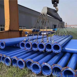 Underground Epoxy Coated Composite Steel Pipe for Mining Steel-Plastic Pipeline Systems