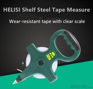 Portable Scale Ruler Inch Metric 30M 50M Tape Measure with Shelf For Woodworking Construction
