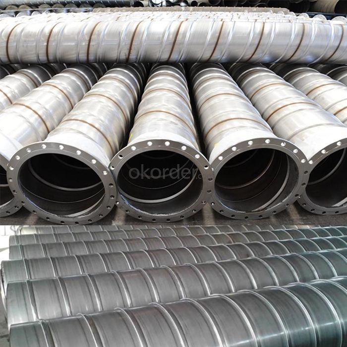 Underground Rib Reinforced Spiral Welded Stainless Steel Pipe for Mining