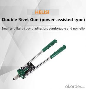 Rivet Gun Wholesale Price Double Hand Rivet Nut Hand Manual Rivet Gun Hand Tool