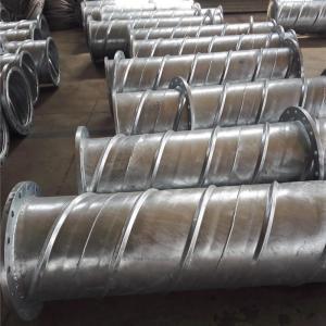 Underground Rib Reinforced Spiral Welded Galvanized Steel Pipe for Mining