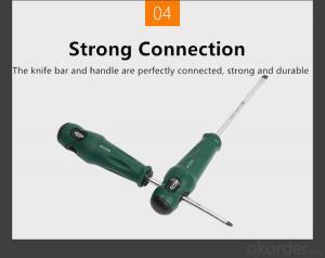 Magnetic Screwdriver Nut Screw drivers Rubber Screwdriver
