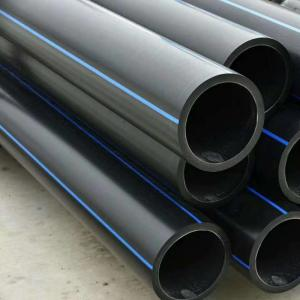 PE Pipe and Fittings for Water Supply Pipeline System PE Tube PE80 PE100