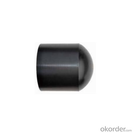PE Injection End Cap Pipe Fittings for Pipeline System