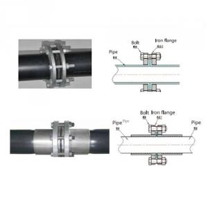 Pipe Crimpling Connection Crimping Steel Sleeve with Flange with Clamp