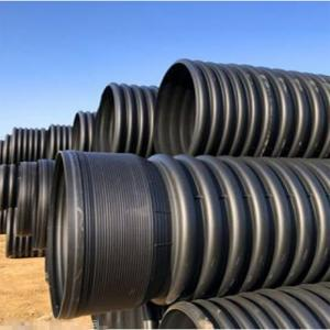 HDPE Winding Structure Wall Pipe Polyethylene Plastic Pipe