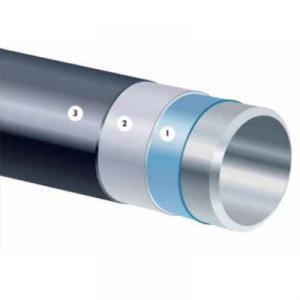 3 PE Outer Three Layer Polyethylene Anticorrosive Steel Pipe for Gas Oil Pipeline System