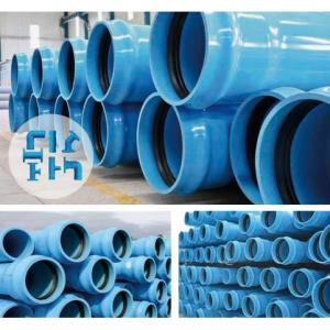 PVC Plastic Pipe System for Water Supply PVC-UH Pipe Fittings