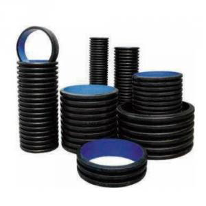 Double Wall Corrugated PE Pipe Plastic Pipe for Water Supply