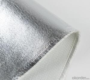 Heat Resistant Aluminium Foil Laminated Fiberglass Fabric