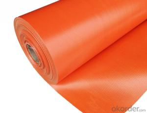 Fireproof PVC Coated Fiberglass Cloth for shipyard