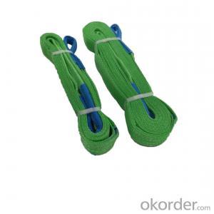 Polyester Safety Factor Flat Textle Sling Strap Webbing Transportation