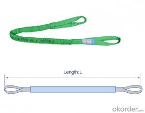 1000T Soft Webbing Sling Textile Endless Round Sling