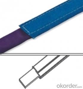 PES Adhension Type Textile Sling Webbing Sling Yarn Straps Carrying Round Sling