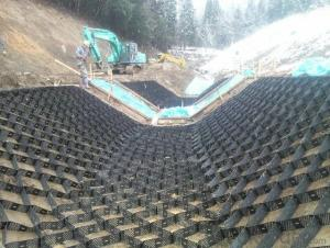 Geocell Soil Reinforcement 100% New HDPE China Manufature Geoweb Confinement system