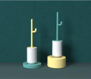 Toilet Brush Eco-friendly Antimicrobial Household Brush Antibacterial Brush