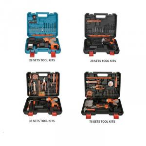 Portable Rechargeable  Electric Power Tool Kits Hand Tool Sets Repair Kit
