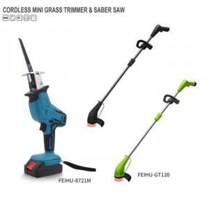 Cordless MINI Grass Trimmer & Saber Saw Portable Rechargeable Electric Power Tools
