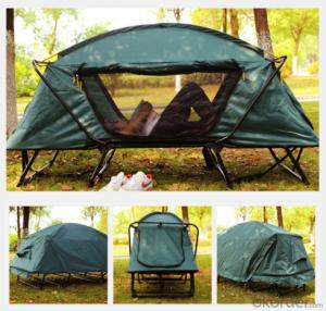 Folding 2 Person Waterproof Smart  Camping Tents Outdoor Hiking Tent Above Off the Ground