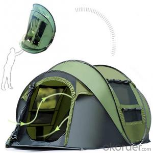 3-4 Person Automatic Pop up Camping Waterproof Dome Tent