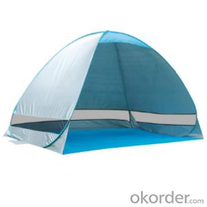 3-4 person UV protect Beach tent One Step Pop Up tent