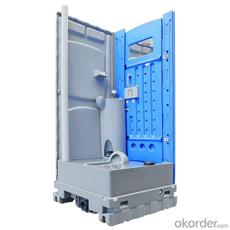 HDPE Squat Portable Public Mobile Toilet for Outdoor Event