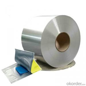 8 Micron Silver Metallized PET Film MPET for Food & Medicine Package