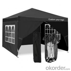Pop up Canopy Exhibition Show Tent garden Gazebo with Sides