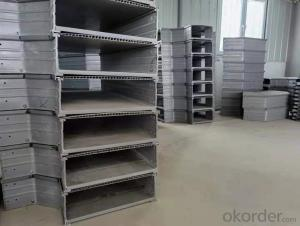 Polymer cable tray Trough type cable tray