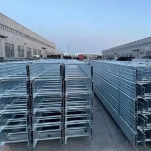 Hot dip galvanized ladder cable tray can be customized