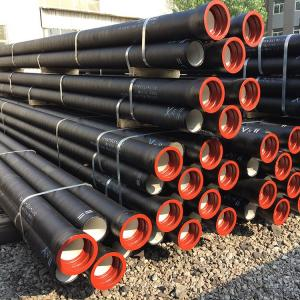China top quality ISO2531 cement lined class K9 DN80 ductile cast iron DCI pipe