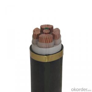 YJV CU/XLPE/PVC  copper conductor XLPE  insulated, PVC sheathed, 0.6/1KV, IEC60502