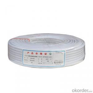 Cu/PVC/PVC   Flexible Copper Conductor  PVC Insulated PVC Jacket Eletric Wire