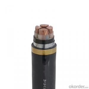 CU/XLPE/PVC/STA/PVC Copper conductor XLPE  insulated  Steel Tape Armoured Power cable , 0.6/1KV,