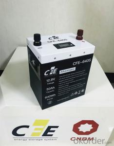 Lithium Battery 12.8V 50AH CFE Brand China Supplier