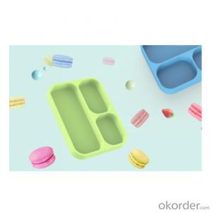 Antibacterial silicone children's plate in many styles