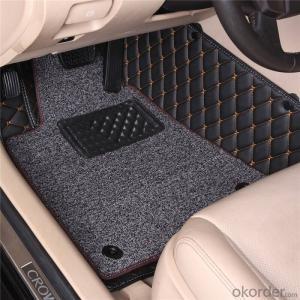 Car Used Printed Door Mat Car Foodpad Quality PVC Mat From China
