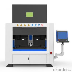 1000w 1500w 2000w Mini Fiber Laser Cutter with Full Cover for Cutting Metal Plate