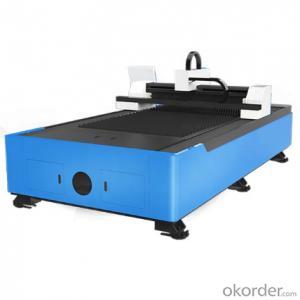 CNC sheet metal single table laser cutting machine power 1000w 2000w 3000w