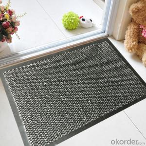 Cotton Door Mat with PVC Backing Home Indoor and Outdoor All Kind of Surfaces
