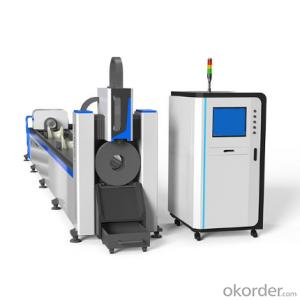 CE High Precision fiber laser tube cutting machine for carbon steel stainless steel processing