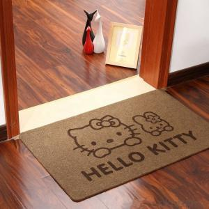 Screen Printed Door Mat With TPR Backing