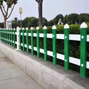 PVC Garden Fencing Plastic Outdoor Lawn Fence Corral for Courtyard Farm