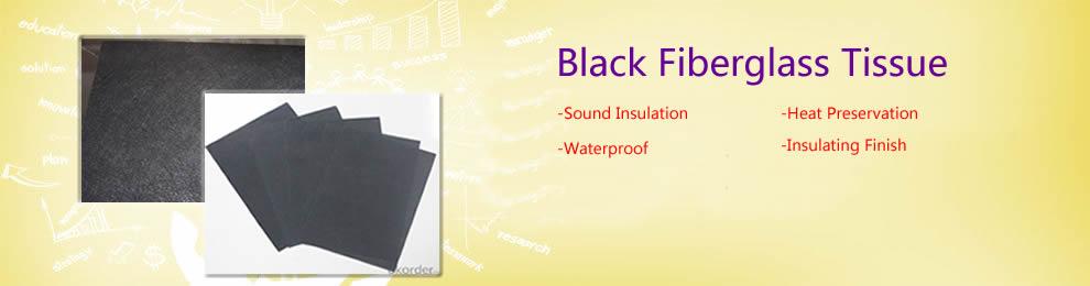 Black Fiberglass Tissue